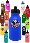 Custom WB20 20oz Custom Plastic Water Bottles