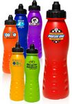 Custom 24 Oz. Super Squeeze Action Plastic Sports Bottles