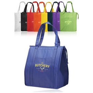 "Non-Woven Insulated Tote Bags (13""x15"")"