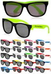 Custom Two Tone Plastic Sunglasses