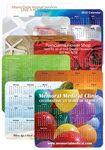 Custom Custom Design Calendar Mouse Pads