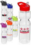 Custom 28 Oz. Tritan Bike Plastic Sports Bottle