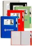 Custom Spiral Notebook w/ ID Window (5.5
