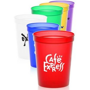 16 oz. Translucent Plastic Stadium Cups