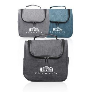 Road Trip Heathered Toiletry Bags