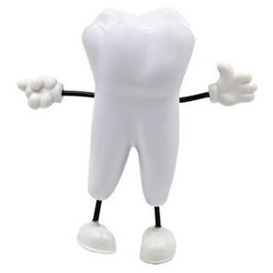 Tooth Man Figure Stress Reliever Toy