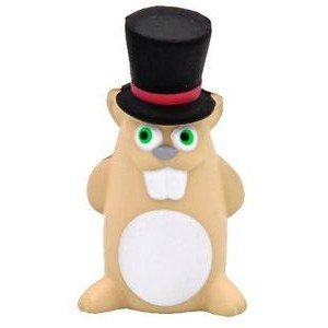 Gentleman Ground Hog Stress Reliever Toy
