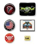 Custom Domestic Lapel Pins - Gold, Silver or Black Finding (6 Day Production Time)