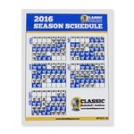Custom Sports Calendar Permanent Adhesive Vinyl Decal - Custom or Stock Calendar Art (3