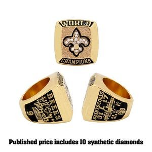 Replica Championship Ring - Shiny Gold (Priority - 20 Days)