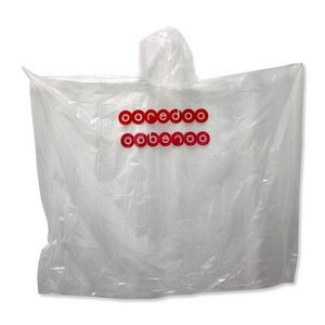 Disposable Rain Poncho (Priority)