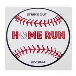 Custom Permanent Adhesive Vinyl Decal - Custom or Stock Baseball Art (4