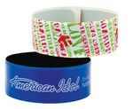 Custom Large Reflective Vinyl Slap Bracelet (Super Saver)