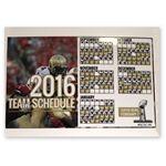 Custom Sports Calendar Static Cling Vinyl Decal- Custom or Stock Calendar Art (5