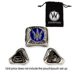 Custom Replica Championship Ring - Shiny Nickel (Priority-20 Days)