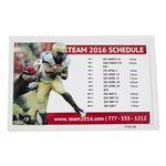 Custom Sports Calendar Permanent Adhesive Vinyl Decal- Custom or Stock Calendar Art (5