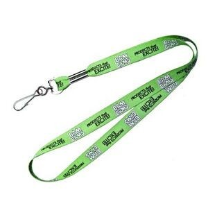 "Recycled Polyester Dye Sublimated Lanyard (36""x3/8"")"