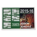 Custom Sports Calendar Permanent Adhesive Vinyl Decal - Custom or Stock Calendar Art (6