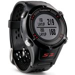 Custom Garmin Approach S2 Golf GPS Watch - Black/Red