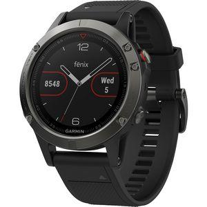 Custom Garmin Fenix 5S Multisport GPS Watch - Slate Gray/Black