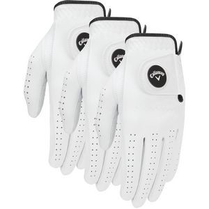 Callaway Optiflex Men's Ball Marker Golf Glove (3-Pack)