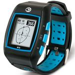 Custom Golfbuddy Watch WT5 GPS Rangefinder - Black/Blue