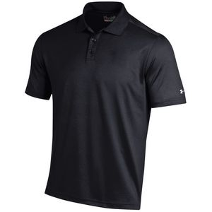 Custom Under Armour Men's Performance Cresting Polo - Black