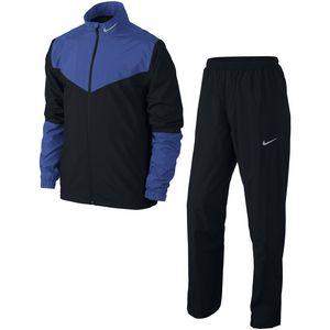 Custom Men's Nike HyperShield Golf Jacket & Pants Rainsuit (Royal Blue)