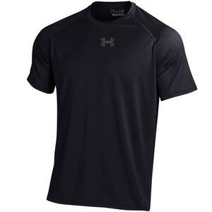 Custom Under Armour Men's UA Tech T-Shirt (Black)