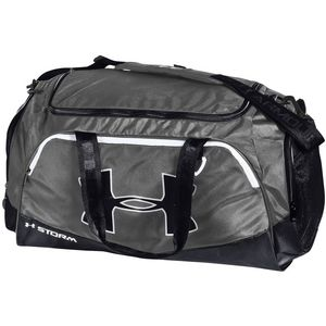 Custom Under Armour Undeniable Medium Duffle - Graphite/Black
