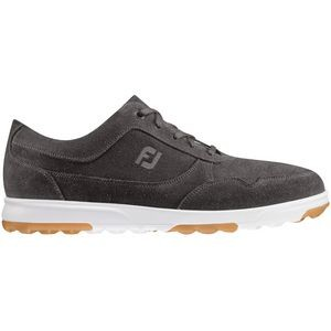 Footjoy Golf Casual Men's Golf Shoes - Slate Waxed Suede