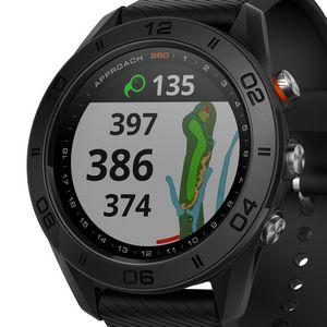 Custom Garmin Approach S60 Golf Watch - Black