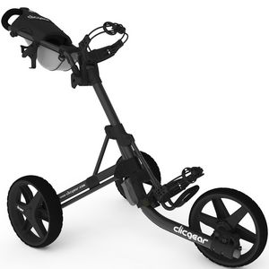Custom Clicgear Model 3.5+ Push Cart - Charcoal Gray/Black