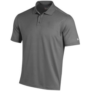 Custom Under Armour Men's Performance Cresting Polo Shirt - Graphite Gray