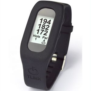 Custom TLink GPS Golf Watch - Black