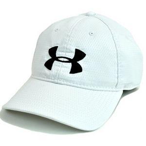 Custom Under Armour Zone Hat - White