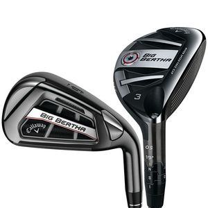 Custom Callaway Big Bertha OS Golf Club Combo Set - Steel Shaft