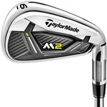Custom Taylormade 2017 M2 Iron Golf Club Set - Steel Shaft