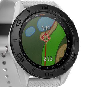 Custom Garmin Approach S60 Golf Watch - White
