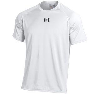 Custom Under Armour Men's UA Tech T-Shirt (White)