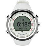 Custom Voice Caddie T1 Hybrid Golf GPS Watch - White