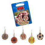 Custom Spirit Earrings - Sports