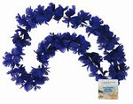 Custom Silk Flower Lei with Square Light-Up Disk
