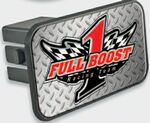 Custom Rectangle Trailer Hitch Cover