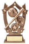 Custom 3D Sports Stars - Baseball Award