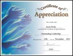 Custom Appreciation Certificate (Certificate Only)