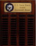 Custom Standard Solid Walnut Perpetual Plaque w/ 24 Plates & Sub-Banners