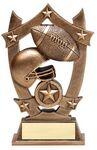 Custom 3D Sports Stars - Football Award