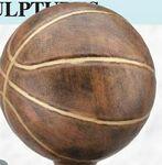 Custom Resin Sculpture Award w/ Base (Basketball/ Large)