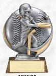 Custom Motion Xtreme 3-D Resin Sculpture Award (Female T-Ball)
